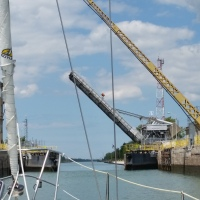 In the Locks - Welland Canal